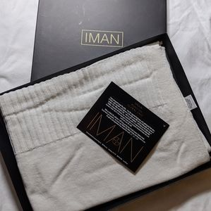 IMAN Global Chic Soft Knit Wrap NWT